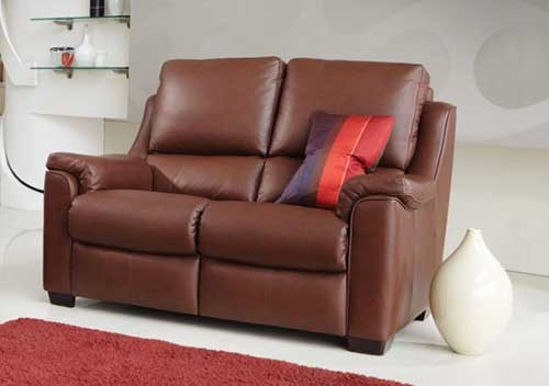 Parker Knoll Albany Power 2 Seater Recliner Sofa Leather - Small ...