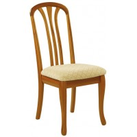 Sutcliffe Trafalgar Slatted Back Rounded Top Dining Chair