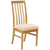 Sutcliffe Trafalgar Slatted Back Straight Top Dining Chair
