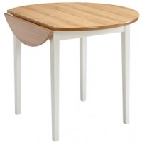Sutcliffe Tufftable Drop Leaf Round Top with Legs