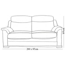 Firenza 3 Seater Sofa (3 or 2 Cushion)