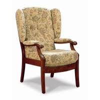 Cintique Salisbury High Sit Armchair with Side Panels
