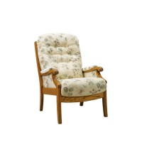 Cintique Winchester High Sit Armchair with Side Panels