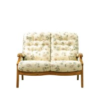 Cintique Winchester Panelled Side 2 Seater Sofa