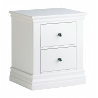 Corndell Annecy 2 Drawer Bedside Chest - Painted Top