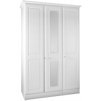 Kingstown Nicole Tall 3 Door/Mirror Wardrobe