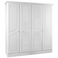 Kingstown Nicole 4 Door Wardrobe