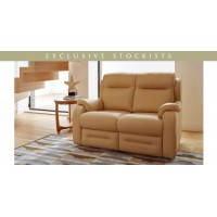 Parker Knoll Boston Manual 2 Seater Recliner Sofa Leather