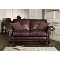 Parker Knoll Burghley Large 2 Seater Sofa Leather
