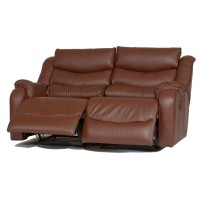 Parker Knoll Denver Power 2 Seater Recliner Sofa Leather