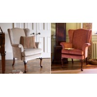 Parker Knoll Hartley Wing Chair Fabric