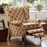 Parker Knoll York Manual Recliner Fabric