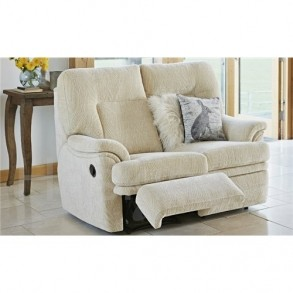 Parker Knoll Seattle Recliner Sofa 2 Seater Fabric