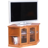 Sutcliffe Trafalgar Corner TV/ DVD Unit with Doors