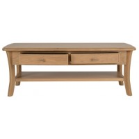 Sutcliffe Harewood Storage Coffee Table with 2 Drawers