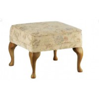 Sutcliffe Hogarth Fabric Footstool