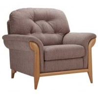 Sutcliffe Elipse Fabric Stitched Back Armchair Range