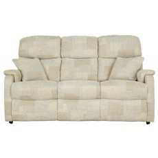 Celebrity Hertford Single Motor Reclining 3 Seat Settee Fabric