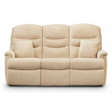 Celebrity Pembroke Manual Reclining 3 Seat Settee Fabric