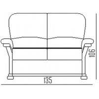 Warwick 3 Seater Sofa