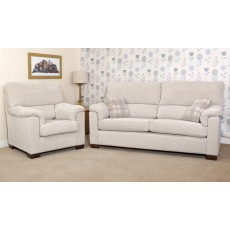 Bristol 3 Seater Sofa Bed 2 Cushion Back