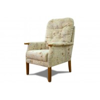 Cintique Petite Armchair with Side Panels