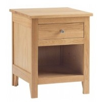 Corndell Nimbus 1 Drawer Open Bedside