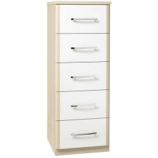 Kingstown Azure 5 Drawer Narrow Chest