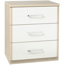 Kingstown Azure 3 Drawer Chest