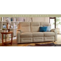 Parker Knoll Boston Manual 3 Seater Recliner Sofa