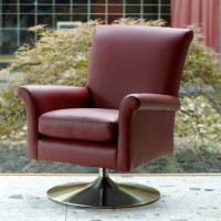 Parker Knoll Bradley Tilt Swivel Chair Leather