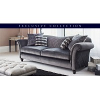 Parker Knoll Etienne Grand 3 Seater Sofa Fabric