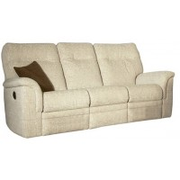 Parker Knoll Hudson Power 3 Seater Recliner Sofa Fabric
