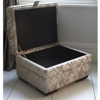 Parker Knoll Lift Top Footstool Fabric