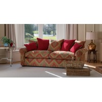 Parker Knoll Newark Grand 3 Seater Sofa Fabric