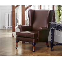 Parker Knoll Penhurst Wing Chair Leather