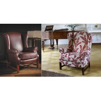 Parker Knoll Sinatra Wing Chair Leather