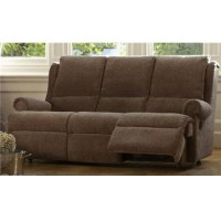 Parker Knoll Stamford Powered Footrest 3 Seater Sofa Fabric