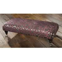 Parker Knoll Winchester Footstool Leather