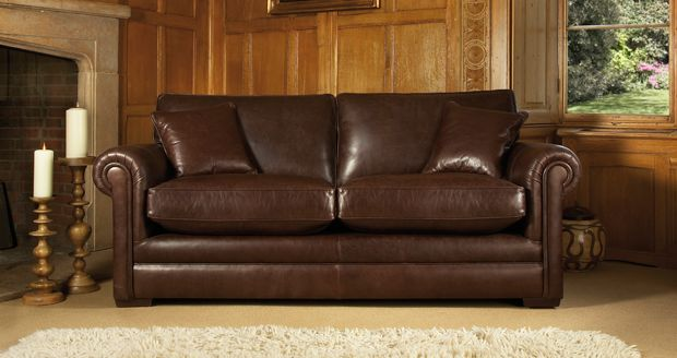 Parker Knoll Canterbury 2 Seater Sofa Leather